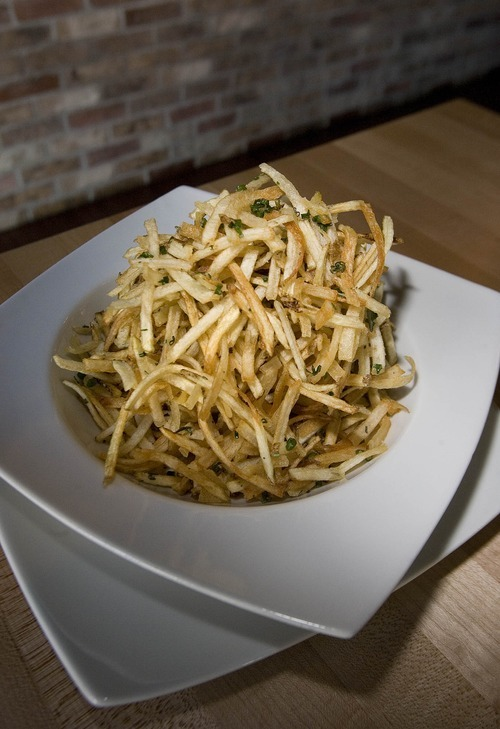 Paul Fraughton | The Salt Lake Tribune The  herb fries at Zy's Restaurant  in downtown Salt Lake City.