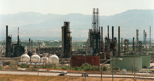 The Chevron refinery at 2351 N. 1100 West began operating in 1948, shortly after the discovery of the Rangely crude oil field in Western Colorado that was an important source of feedstock for the plant.
