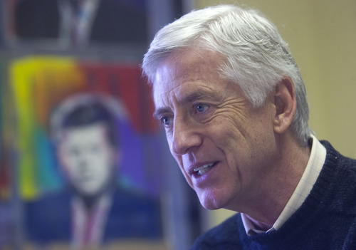 Al Hartmann  |  Tribune file photo  Former Salt Lake City Mayor Rocky Anderson has launched a new political party and is running for president on its ticket.