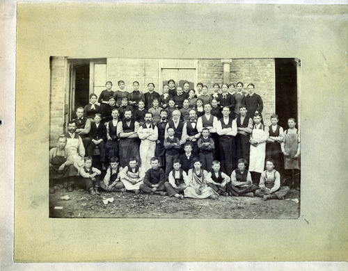 Tribune file photo  ZCMI staff is seen in this photo from 1881.