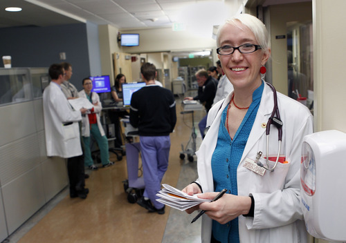 Al Hartmann  |  The Salt Lake Tribune Kimberly Butler is among a growing number of medical school graduates choosing primary care residencies. She started school before federal health reform and will be among the first to start a career under its rules.