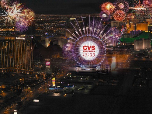 A rendering of SkyVue, a gigantic Ferris Wheel-type observation wheel being built across from Mandalay Bay on the Las Vegas Strip. Courtesy image