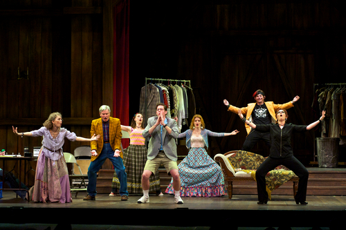 Courtesy Alexander Weisman The cast in a scene from Pioneer Theatre Company's