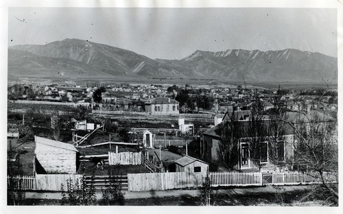 Tribune file photo  A view of Salt Lake City is seen sometime in the 1880s.