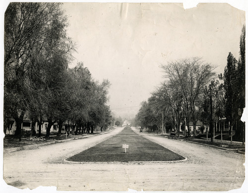 Tribune file photo  This undated photo shows a view of 600 East in Salt Lake City. The sign on the grass says: