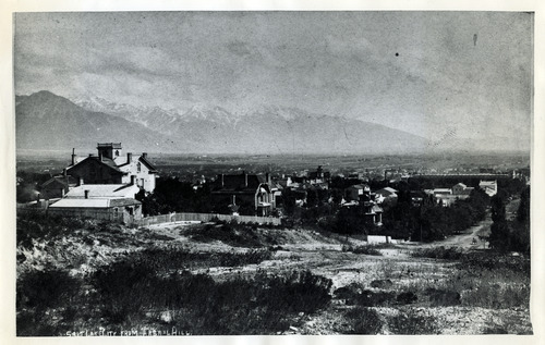 Tribune file photo  A view of Salt Lake City from what is now Capitol Hill. At the time of this  photo it was known as Arsenal Hill.