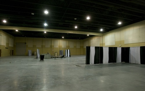 Rick Egan  |  Tribune file photo Davis County expanded its conference center in Layton in early 2008.