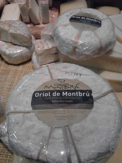 Lesli J. Neilson  |  The Salt Lake Tribune  Oriol de Montbrú is a pasteurized water buffalo milk cheese that is from Catalunya, Spain.