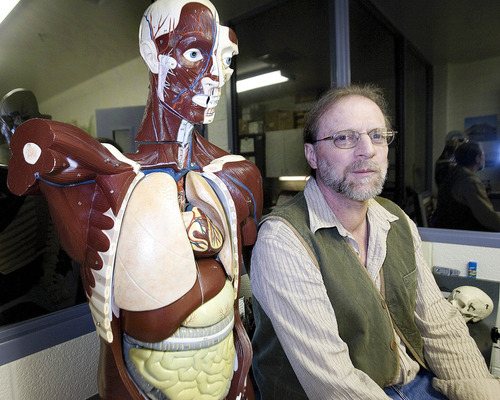 Paul Fraughton | The Salt Lake Tribune The University of Utah's body donor program receives about 175 bodies a year, according to director Kerry Peterson. The donations, Peterson said, provide anatomical material for the ever-growing educational and research needs of medical science.
