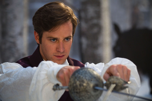 In this film image released by Relativity Media, Armie Hammer is shown in a scene from,