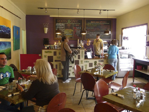 Roots Cafe serves breakfast and lunch daily from 7 a.m. to 3 p.m. Source: Roots Cafe