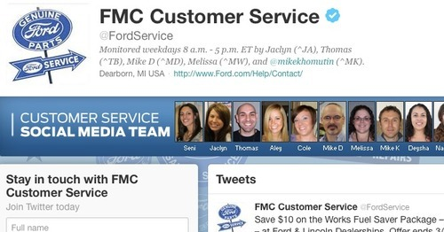 Social media shifts power balance in favor of consumers for Ford motor company customer service