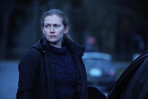 Mireille Enos stars as Detective Sarah Linden in AMC's