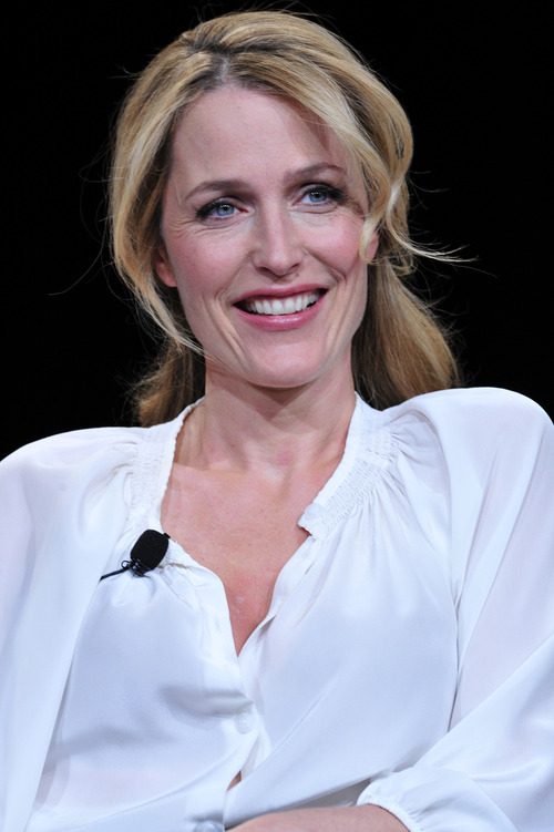 Gillian Anderson discusses the new series based on Charles Dickens' remarkable tale of rags to riches to self-knowledge. Courtesy Rahoul Ghose  |  PBS