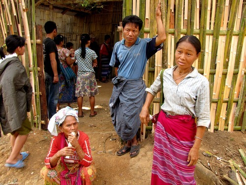 Julia Lyon   The Salt Lake Tribune In 2009, these women came to the United Nations High Commissioner for Refugees office each Friday at Mae La Camp in Thailand trying to get more information about their application to resettle to the United States. They were confused about where they should seek help. Hser Ner Moo's family lived in Mae La before coming to the U.S. as refugees.