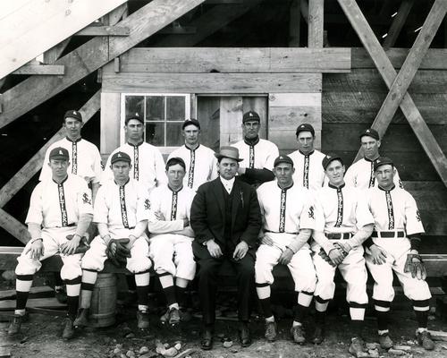 Short Line Baseball Team, 1889