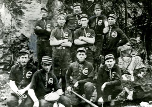 Ophir Baseball Team 1904