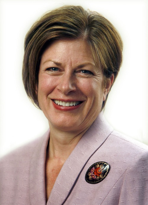 Rick Egan  |  Tribune file photo LDS General Relief Society President Julie B. Beck