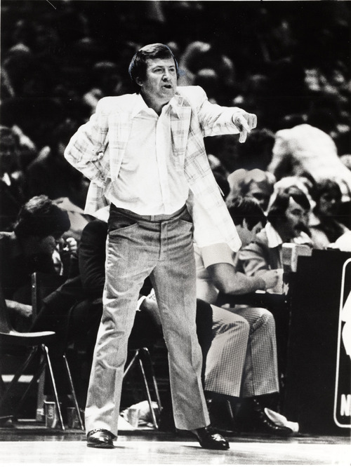 **TRIBUNE FILE PHOTO DICK MOTTA former basketball coach at Weber State and former coach of the Chicago Bulls 01/18/1983