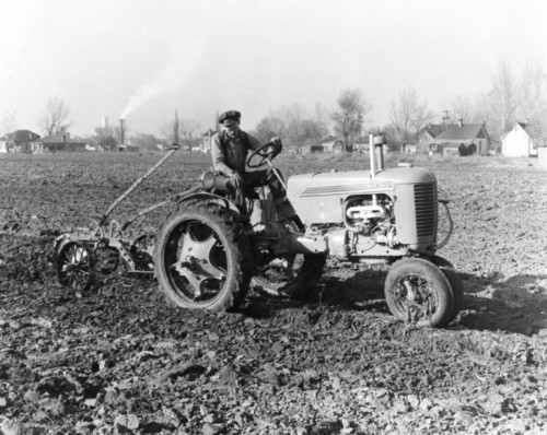Photo courtesy Utah State Historical Society  J.I. Case Co. tractor, Nov. 15, 1940.