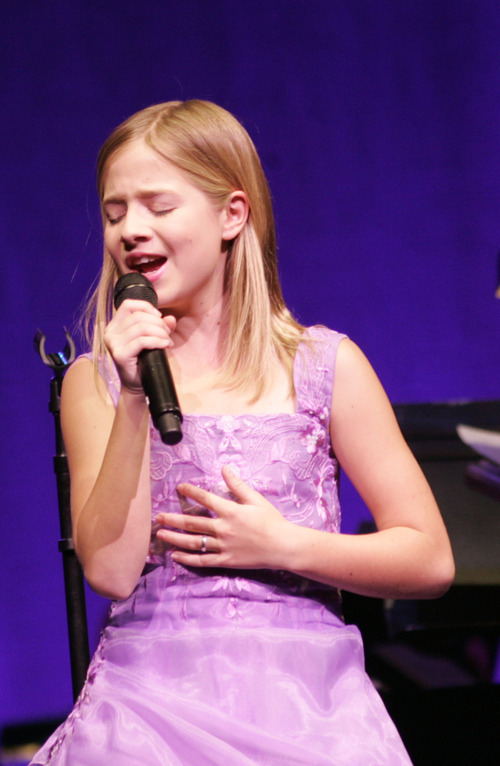 Kim Raff | The Salt Lake Tribune Jackie Evancho, a pre-teen who sings opera and was discovered on