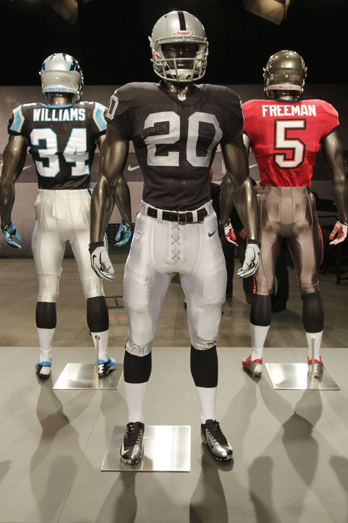 big sale 9a13c 932d7 NFL unveils new uniforms for all 32 teams - The Salt Lake ...