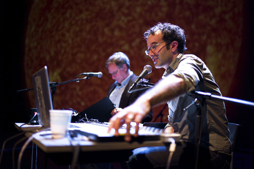 Producers Jad Abumrad and Robert Krulwich will perform at RadioLab's