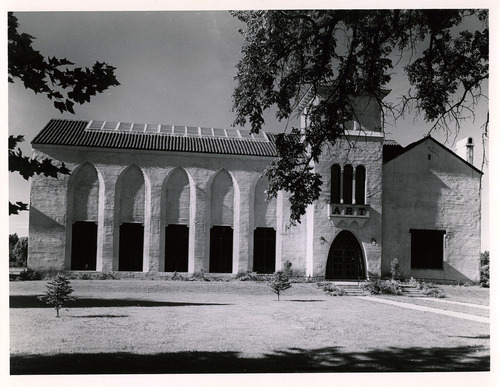 Tribune file photo  This 1943 photo from the Works Progress Administration shows the art museum in Springville.
