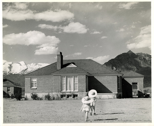Tribune file photo  This 1943 photo from the Works Progress Administration shows a residence at the State Training School near American Fork.