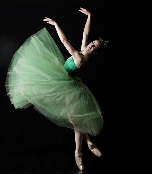 Ballet West principal dancers Christiana Bennett in George Balanchine's