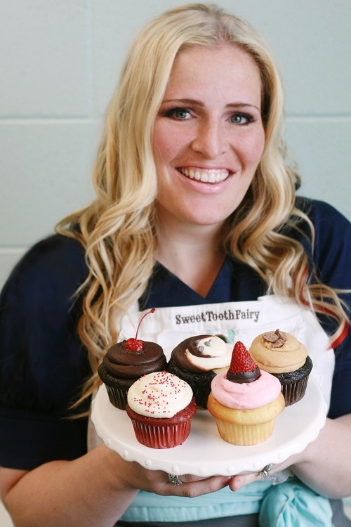Megan Faulkner Brow, owner of Sweet Tooth Fairy bake shop, based in American Fork, became the first Utahn to win