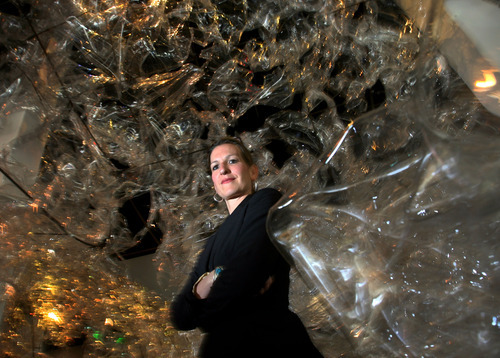 Steve Griffin/The Salt Lake Tribune   Alexandra Hesse is the new director of The Leonardo, in Salt Lake City.