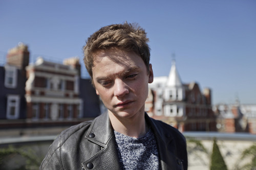 In this photo taken Wednesday, March 28, 2012 British singer Conor Maynard, poses for pictures in London. Following in Justin Bieber's footsteps, Maynard from England has gone from uploading videos online to having the support of America's biggest R'n'B stars. (AP Photo/Lefteris Pitarakis)