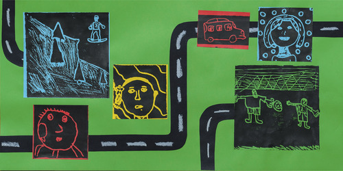 Cache County School District and Cache Valley Transit District have partnered togethe on Art in Transit Project,