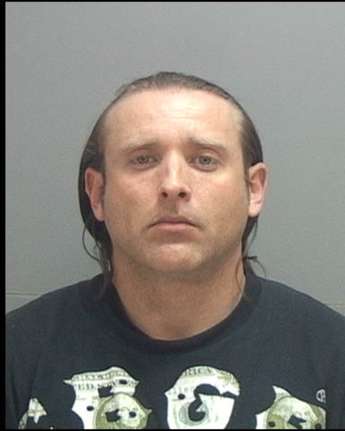 A Taylorsville police officer shot and missed Bryan W. Manseau on March 1, 2012. Documents say Manseau ran when the officer tried to arrest him. Photo courtesy Salt Lake County jail.