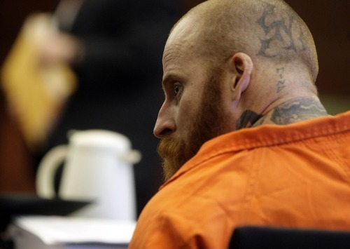 Eric Millerberg appears before the Second District Court in Ogden Monday, April 9, 2012.(MATTHEW ARDEN HATFIELD/Standard-Examiner)