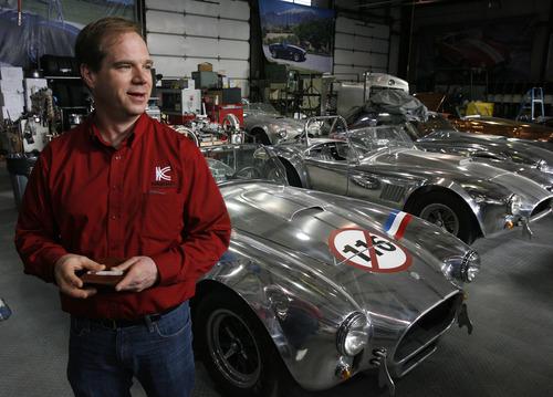 Rick Egan  | The Salt Lake Tribune   David Kirkham talks about how his company makes custom race cars, in his factory in Provo, Saturday, December 10, 2011.