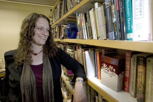 Paul Fraughton  |  The Salt Lake Tribune University of Utah English professor Anne Jamison's academic study of fan fiction, particularly the