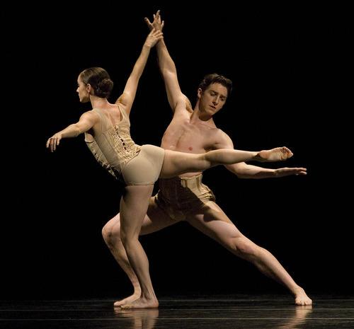 Paul Fraughton   The Salt Lake Tribune.  Ballet West dancers in the dress rehearsal of
