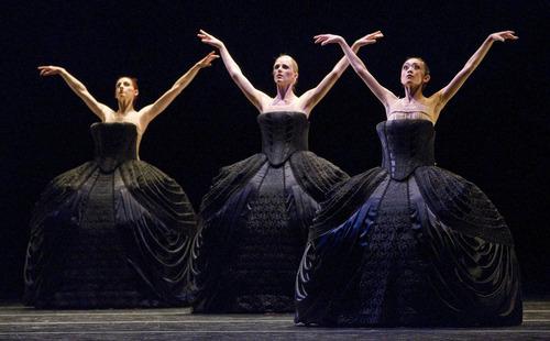 Paul Fraughton   The Salt Lake Tribune.  Ballet West dancers performing