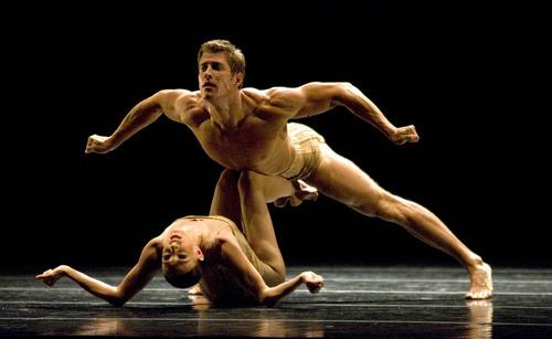 Paul Fraughton | The Salt Lake Tribune.  Ballet West dancers perform in a dress rehearsal performance on April 12, 2012.