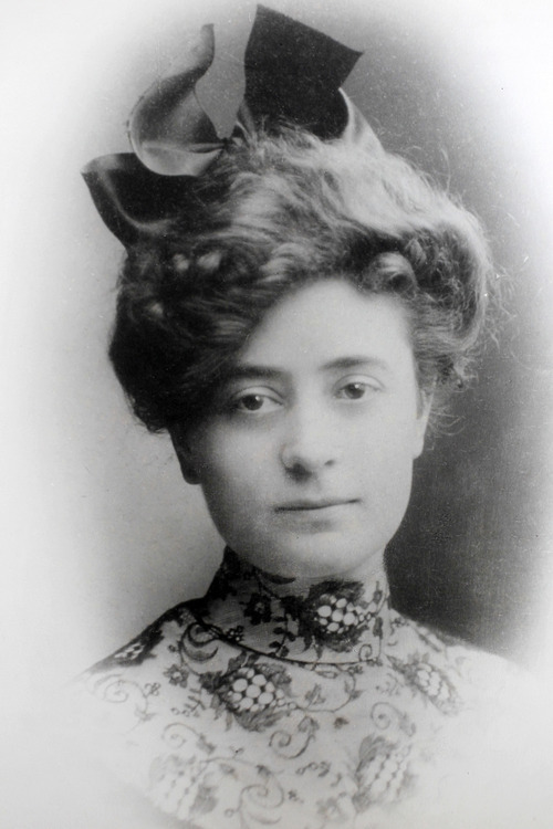 Al Hartmann  |  The Salt Lake Tribune Family photograph of Irene Corbett as a young woman. Corbett, who was returning from midwife-nursing training in England, was the only Utahn who died on the Titanic.    Photo courtesy of Don Corbett