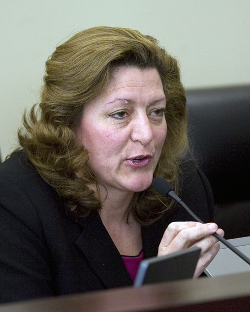 Al Hartmann   |  The Salt Lake Tribune Former Utah lawmaker Holly Richardson.