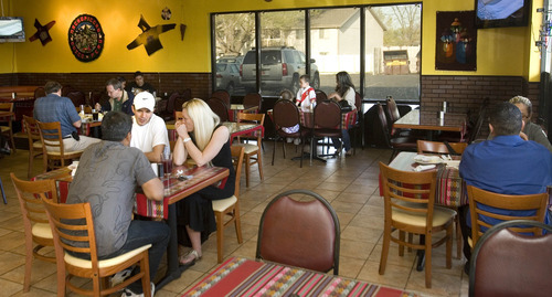 Paul Fraughton | The Salt Lake Tribune At the Peruvian restaurant El Rocoto in West Valley City, the menu reveals influences of Spain, Italy and China.
