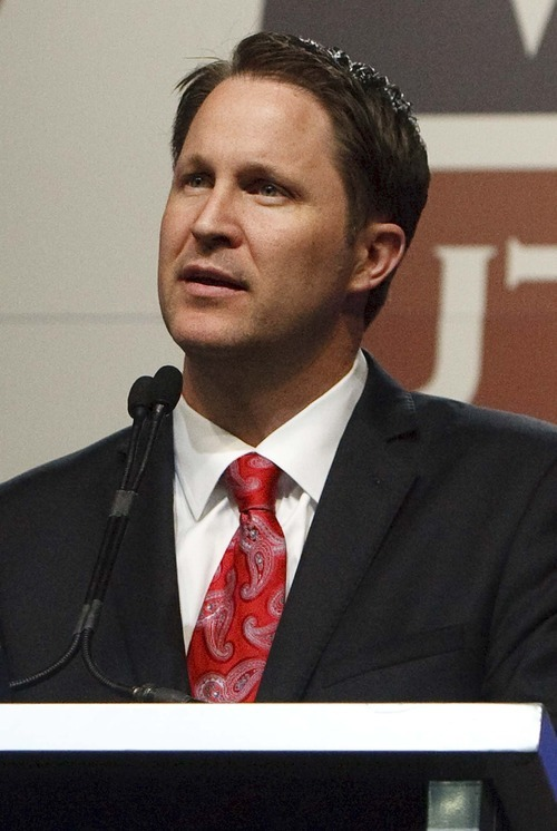 Leah Hogsten  |  The Salt Lake Tribune Morgan Philpot received 36.74% of the delegate vote and was defeated by Utah Gov. Gary Herbert in a second round of balloting. Philpot, a former state lawmaker, had hoped to pick up rival candidate David Kirkham's delegates after Kirkham fell out of the running in a first ballot.
