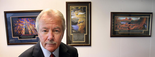 Steve Griffin | Tribune file photo Ken Connaughton, former Utah newsman and spokesman for the Salt Lake City mayor's office and UDOT, passed away April 18 at age 70.