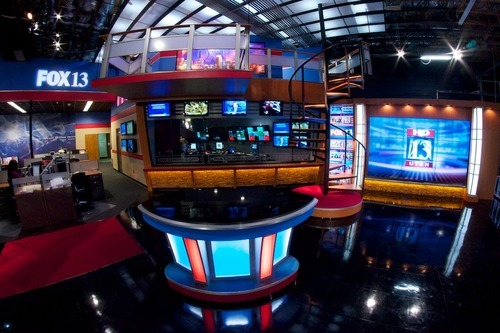 KSTU-Channel 13 will unveil its new state-of-the-art HD studio on Monday, April 23. Courtesy photo