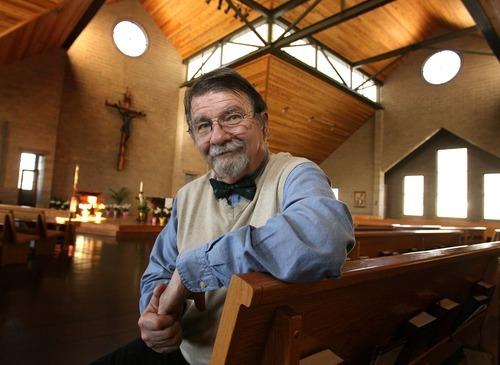 Leah Hogsten     The Salt Lake Tribune Former Mormon Richard Sherlock completed his convension to Catholicism on Easter at St. Thomas Aquinas Catholic Parish near Logan.
