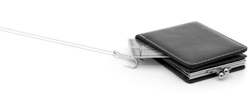 With a little effort, you can keep others' hooks out of your wallet. Courtesy Philip Friedman/Studio D