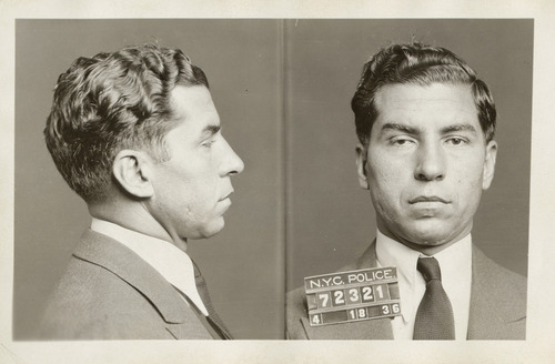 In this April 18, 1936 photo provided by the New York City Municipal Archives, the police booking photo of Charles